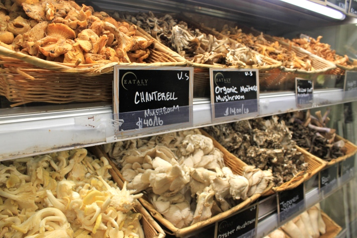 Eataly – mushrooms