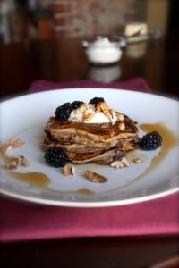 Fruit & Nut Pancakes