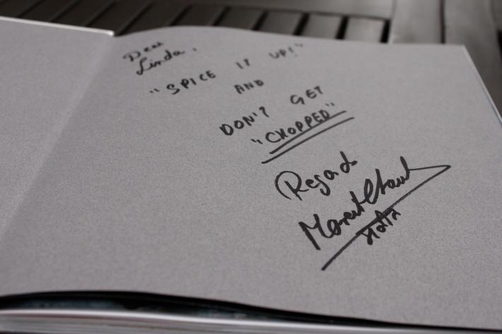 Maneet's signature