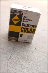 Cement color