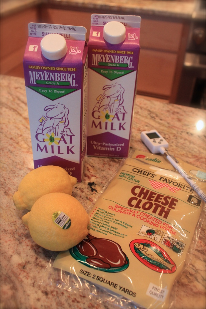 Cheese making supplies