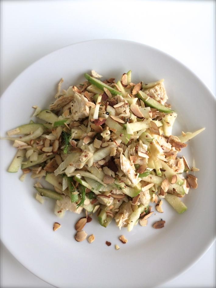 Chicken, Apple, and Fennel Salad