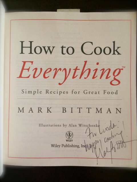 How to Cook everything signed
