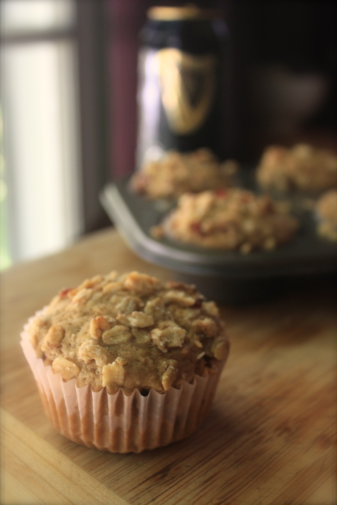 Spicy Bacon & Brew Muffins 1